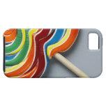 Lollipop multicolor, primer iPhone 5 coberturas