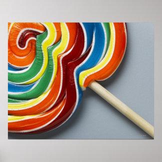 Lollipop multicolor primer posters