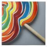 Lollipop multicolor, primer teja  ceramica