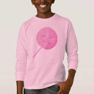 lollipop pink yum berries fruit food sweets smile T-Shirt