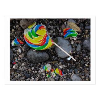 Lollipop Postcard