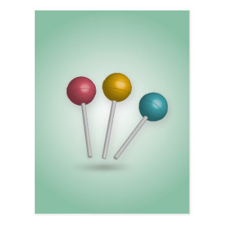 Lollipop Postcard