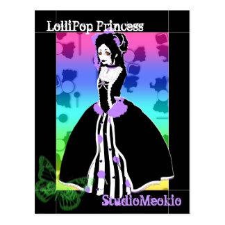 LolliPop Princess Postcard