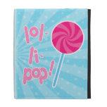 Lollipop rosado y azul