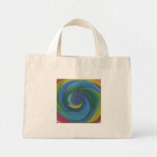 Lollipop Swirl 2030 Mini Tote Bag