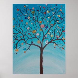 Lollipop Tree Poster