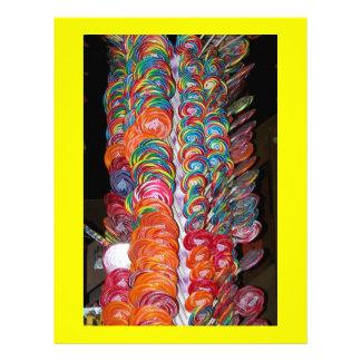 Lollipop Tree Scrapbooking Paper