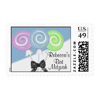 Lollipops and Polka Dots Postage