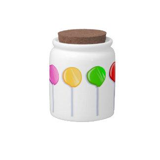 Lollipops Candy Jars