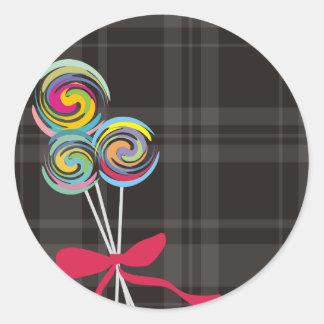 lollipops candy maker baking kitchen gift tag stic