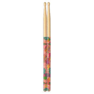 Lollipops Candy Pattern Drumsticks