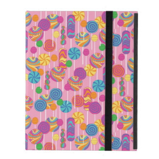 Lollipops Candy Pattern iPad Cover