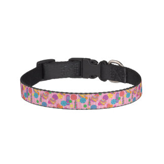 Lollipops Candy Pattern Pet Collar