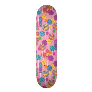 Lollipops Candy Pattern Skate Board