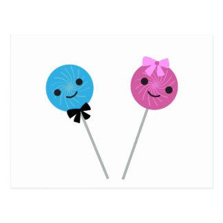 Lollipops lindos tarjetas postales