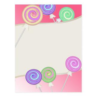 Lollipops Postcard