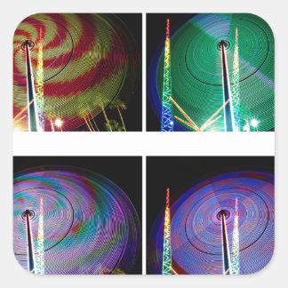 Lollipops Square Sticker