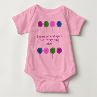 Lolly Pop Baby Onsie Tee Shirt
