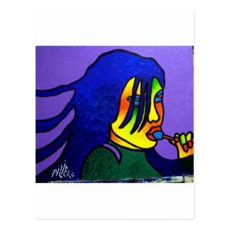Lolly Pop by Piliero Postcard