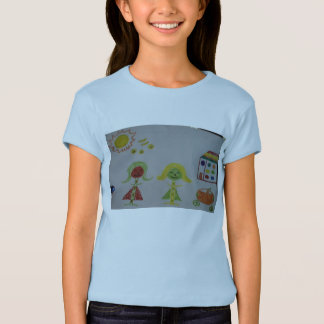 LOLLY POP T-SHIRT BELLA FITTED BABY DOLL