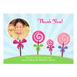 Lollypop le agradece tarjeta de la foto comunicados personales