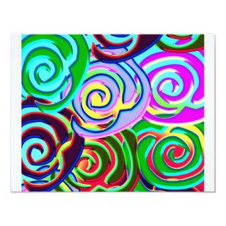 lollypop pattern card