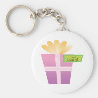 Lolo's Favorite Gift Basic Round Button Keychain