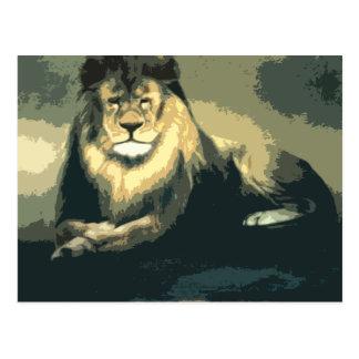 lolo lion merchandise postcard