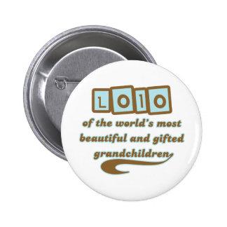 Lolo of Gifted Grandchildren Button
