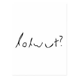 lolwut postcard