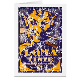Loma - 1930 - distressed card