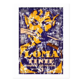Loma - 1930 - distressed postcard