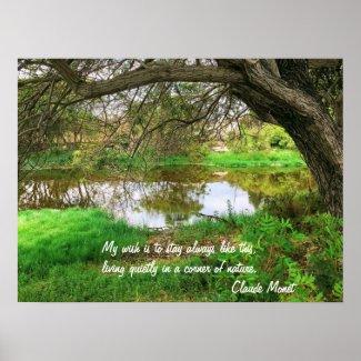 Loma Alta Creek-Oceanside Poster