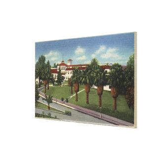 Loma Linda Sanitarium Hospital View Stretched Canvas Print
