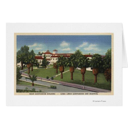 Loma Linda Sanitarium & Hospital View Greeting Cards