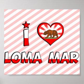 Loma Mar, CA Poster