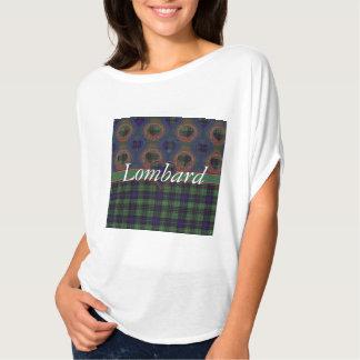 Lombard clan Plaid Scottish kilt tartan T Shirt