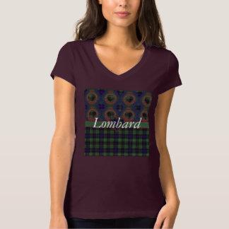 Lombard clan Plaid Scottish kilt tartan Tee Shirt