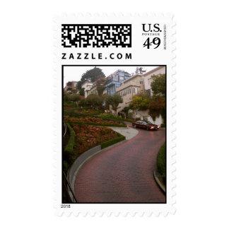 lombard street stamp