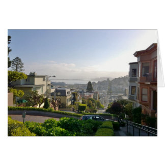 Lombard Street - San Francisco, California Card