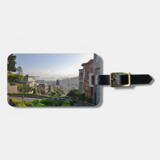 Lombard Street - San Francisco, California Luggage Tag