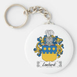Lombardi Family Crest Keychains