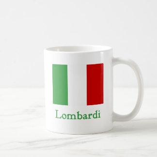Lombardi Italian Flag Coffee Mug