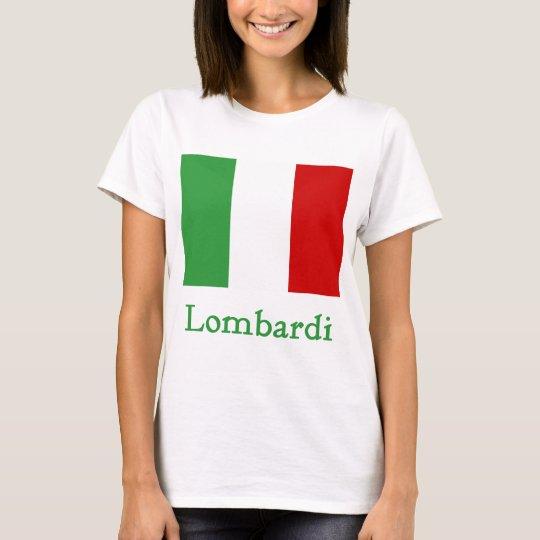 Lombardi Italian Flag T-Shirt