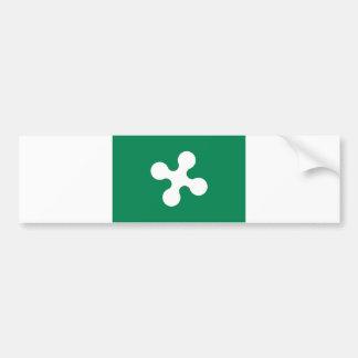 lombardia del condado de Italia de la bandera de l Pegatina Para Auto