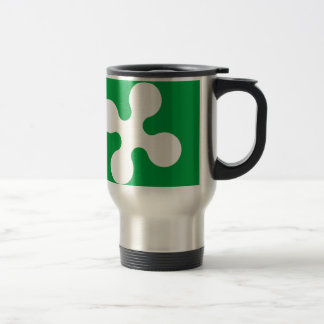 Lombardy (Italy) Flag 15 Oz Stainless Steel Travel Mug