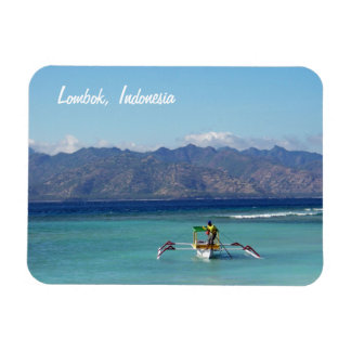 Lombok Boat Premium Flexi Magnet