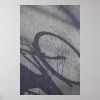 L'ombre de la bicyclette (2007) Print