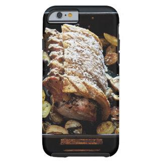 Lomo del zpork de Roaste del horno con el Funda Para iPhone 6 Tough