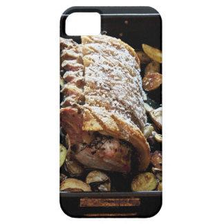 Lomo del zpork de Roaste del horno con el iPhone 5 Funda